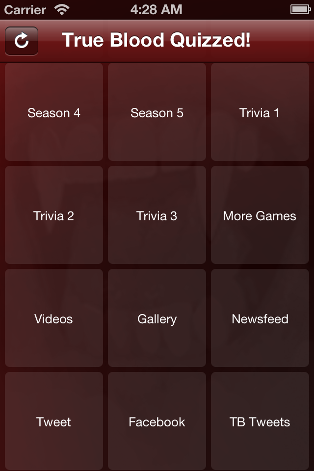 True Blood Quizzed! App for iPhone Coming Soon - Click on the image above to check out our other apps in the App Store!